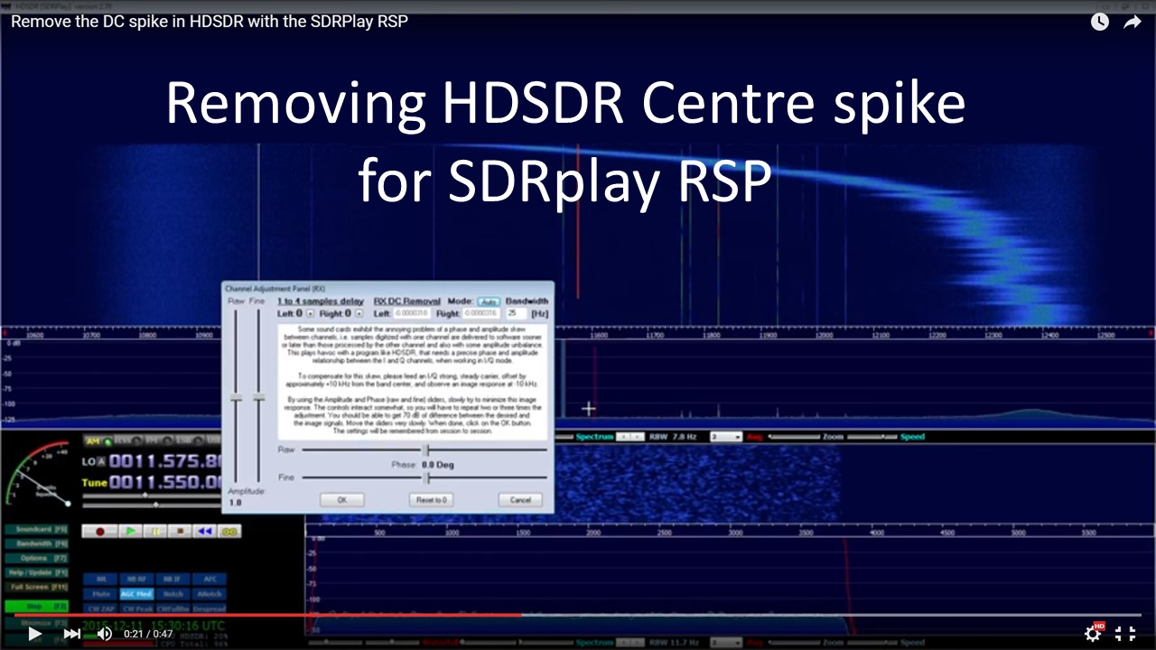 SDRPlay - We have released a new HDSDR plugin with ...