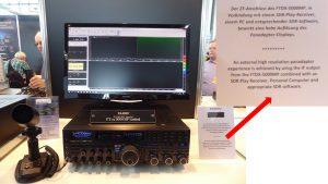 Yaesu demonstrates SDRplay Panadapter – SDRplay