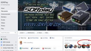 Independent SDRplay Facebook Group welcomes its 9000th