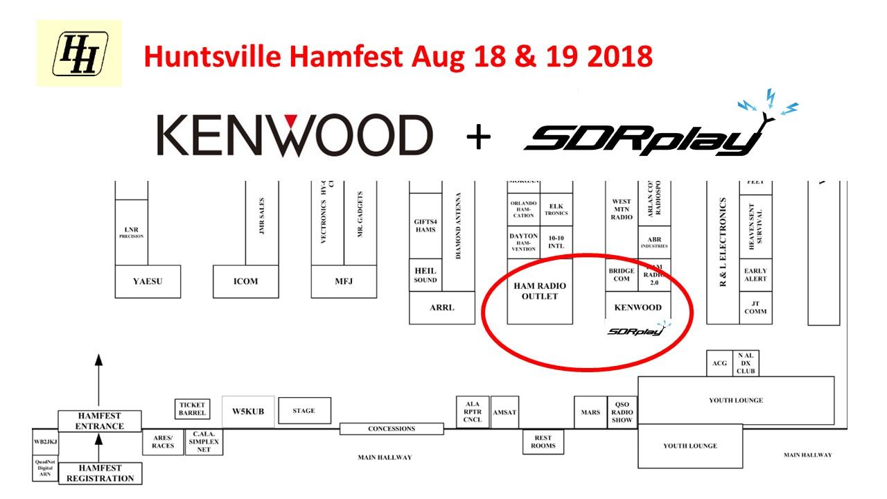 SDRplay at the Huntsville Hamfest this weekend - SDRplay