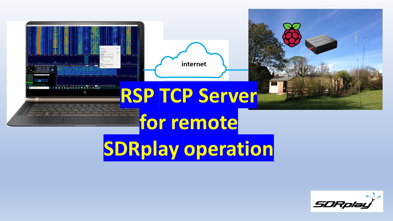 Video guide to new RTLSDR compatible TCP server - SDRplay