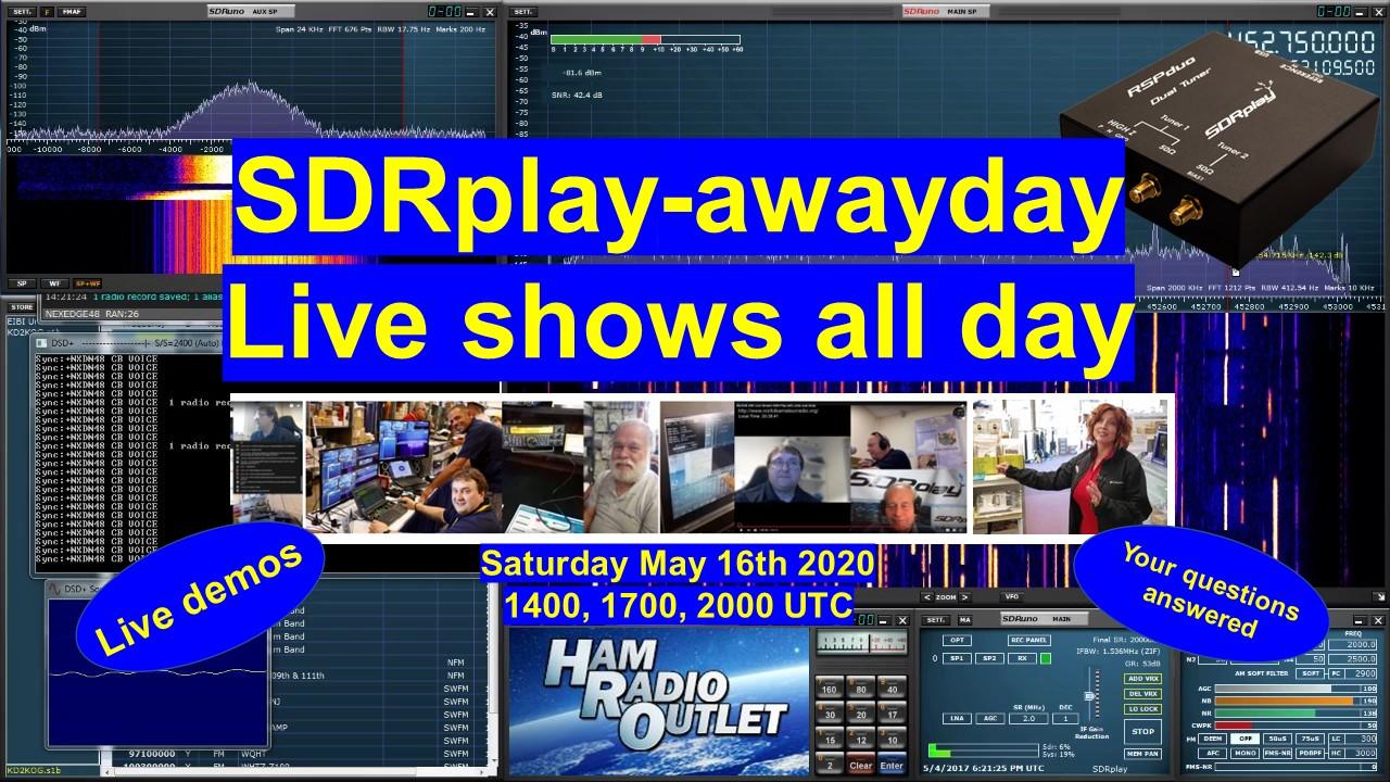 SDRplay-awayday - interactive demos, chat and fun